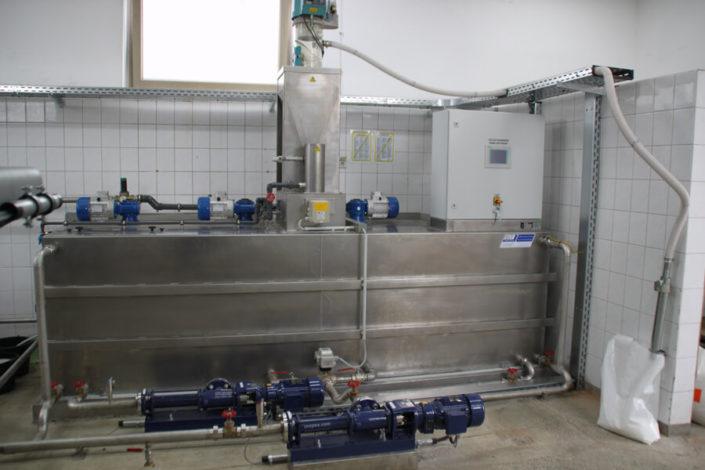 automatyczna stacja przygotowania polielektrolitu