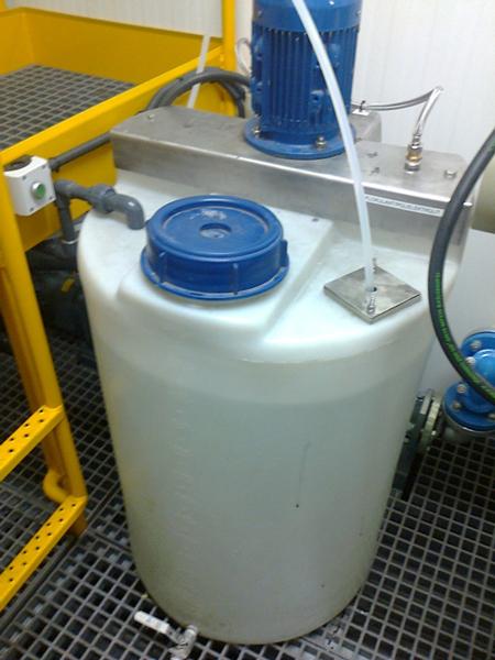 ręczna stacja przygotowania i dozowania polielektrolitu