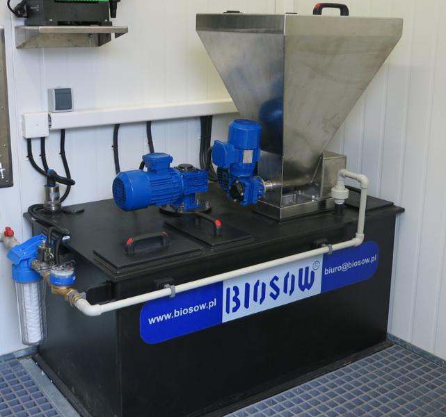 automatyczna stacja przygotowania i dozowania polielektrolitu
