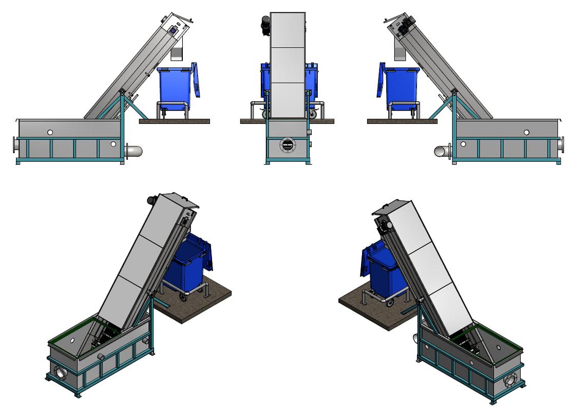 sito kanałowe - konstrukcja